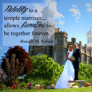 Temple Sealings for Family Members: A Plan of Peace