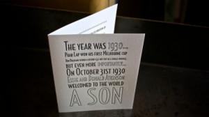 Birthday Invites by Ma Joie Press