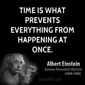 Einstein Quote About Time