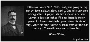 Quotes by Owen Wister