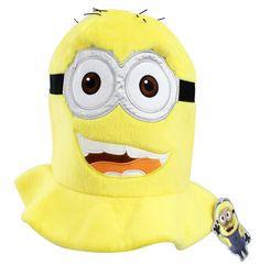 ... Me Tall Funny Costume Hat Yellow Minion Jorge Minion Mayhem Universal