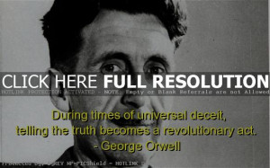 george orwell, best, quotes, sayings, truth, meaningful, deep