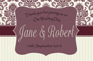 ... BOTTLE LABEL WEDDING DAY GIFT FAVOURS WINE, SPIRIT OR CHAMP WDBL 10