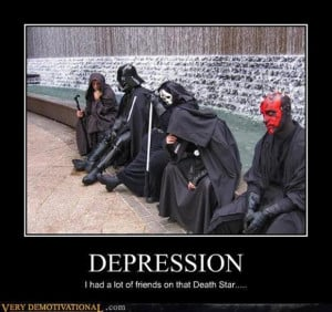 funny star wars, i had a lot of friends on that death star