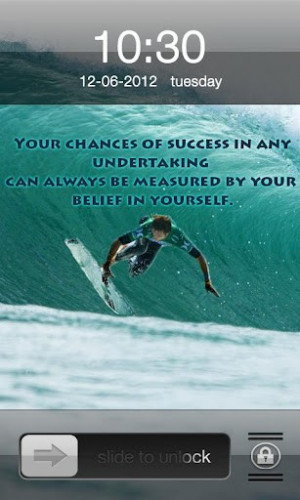 View bigger - Sea Side Surfing IPhone Locker for Android screenshot