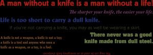 NEW Knife Slogans, Quotes, Sayings Coffee Mug!