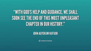 Quotes About Gods Guidance