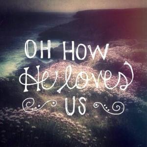 HIS LOVE AMAZES ME ALWAYS
