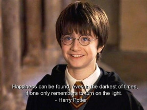 Harry potter quotes sayings famous best happiness witty