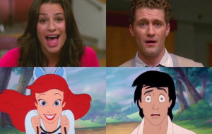 When Rachel was obsessed with Mr. Schue! I can't stop laughing at this ...