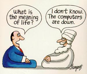 The meaning of life???