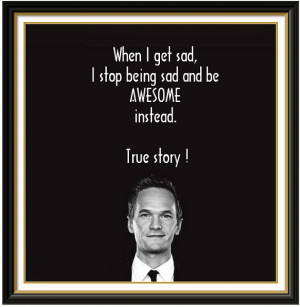 Barney Stinson Quote Being...
