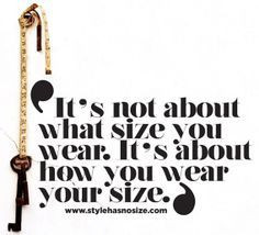 Plus Size Quotes on Pinterest