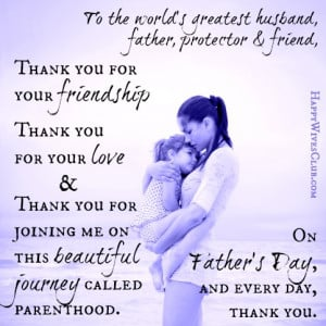 To the World's Greatest Husband