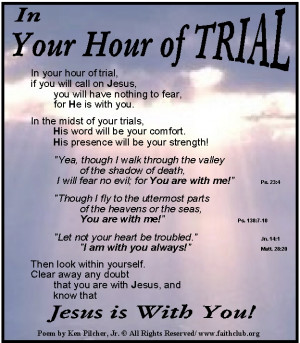 Quotes About Trials and Tribulations