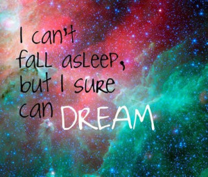 can't fall asleep...