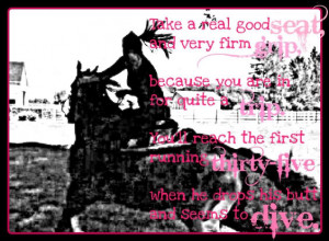 Cute Barrel Racing Quotes