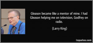 More Larry King Quotes