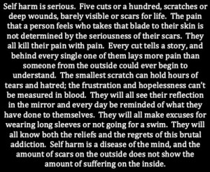 self harm cutting scars self harm scars