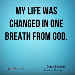 Donna Summer Religion Quotes
