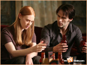 ... to Vampire newbie Jessica in the second season premiere of TRUE BLOOD