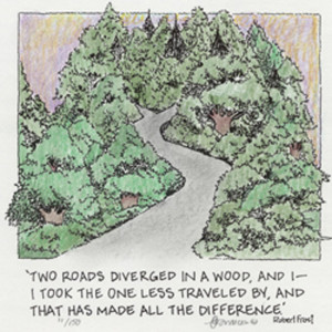 Robert+frost+quotes+two+roads