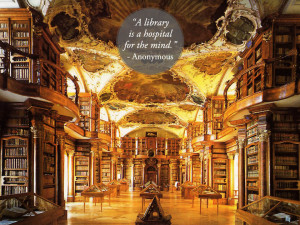 Quotes about libraries - Anonymous - Abbey Library of St. Gall