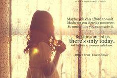 Before I Fall - Lauren Oliver More