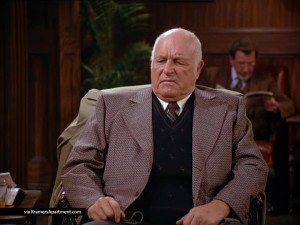 to have dinner with Elaine and her father, Elaine is delayed and Jerry ...