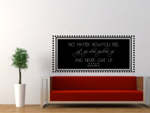 Regina Brett Inspirational Quote Wall Decal No by MyVinylStory, $21.97