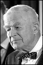 Special Prosecutor Archibald Cox after his firing, Oct. 20, 1973