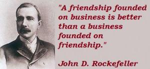 John D Rockefeller entrepreneur quotes