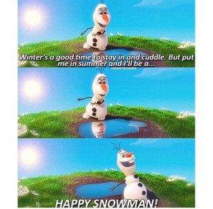 Funny moments of Olaf!