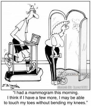 mammogram cartoons, mammogram cartoon, funny, mammogram picture ...