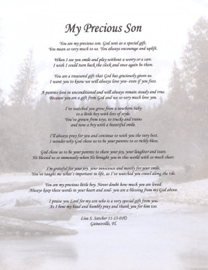 poems pics about sons | ... Original Inspirational Christian Poetry ...