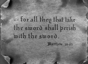 ... opening title card's promise of a story relevant to the bible quote