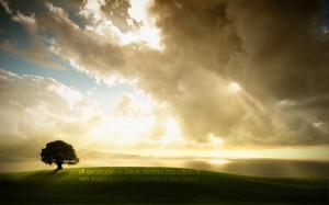 Sê exaltado, ó Deus, acima dos céus; e em toda a terra esplenda a ...