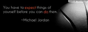 Michael Jordan Quote Profile Facebook Covers
