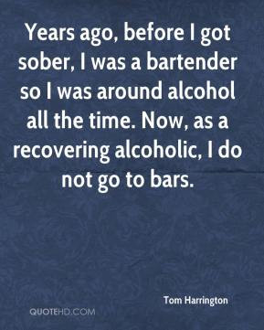 Being a Bartender Quotes