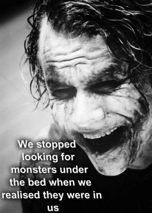 Quote - The Dark Knight - The Joker