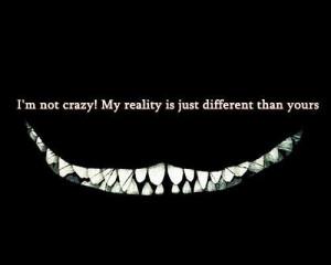 not crazy...