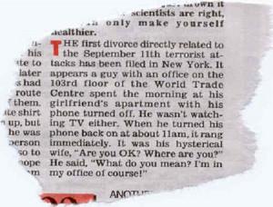 terrorism divorce caught cheating