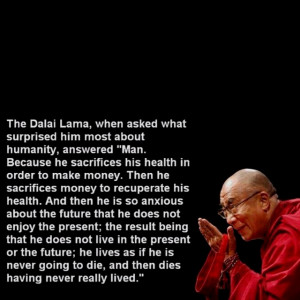 Inspiration and food for thought
