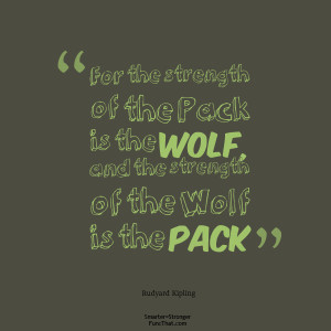wolf pack quotes