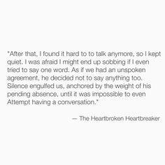The Heartbroken Heartbreaker More