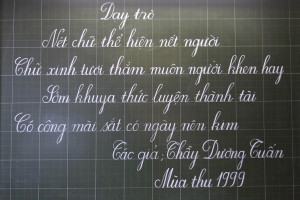 ... (Sai Chính Tả) and reading Vietnamese. If they learned northern