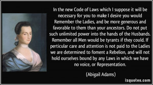 More Abigail Adams Quotes