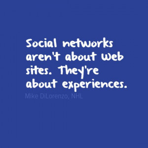 Mike DiLorenzo on Social Networks #Quote