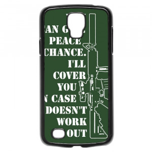 Funny Gun Rights Quotes Galaxy S4 Active Case