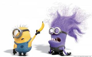 Evil Purple Minion Fond Ecran, Fonds d'écran HD, Fonds d'écran d ...